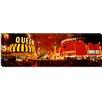 iCanvas Panoramic Casino Lit up at Night Fremont Street, Las Vegas, Nevada Photographic Print on Canvas