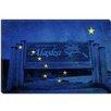 iCanvas Alaska Flag, Welcome to Alaska Sign Grunge Graphic Art on Canvas