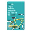 Cape Craftsmen Life Is Like A Bicycle Wooden Plock by Heidi Dobrott Textual Art Plaque