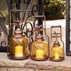 Cape Craftsmen 3 Piece Dragonfly Nested Lantern Set