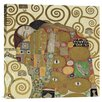 <strong>'The Embrace' by Gustav Klimt Painting Print on Canvas</strong> by Bentley Global Arts