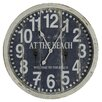 """<strong>Cooper Classics</strong> Greenwich 24"""" Wall Clock"""