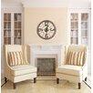 "Cooper Classics Oversized 25"" Caravita Wall Clock"