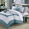 <strong>Chic Home</strong> Seashell 8 Piece Comforter Set