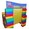 <strong>Serec Entertainment</strong> Jumbo Blocks 99 Piece Playland Playhouse