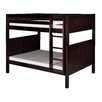 <strong>Camaflexi</strong> Full over Full Bunk Bed with Panel Headboard
