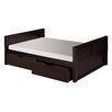 Camaflexi Full Platform Bed with Drawers