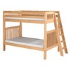 Camaflexi Bunk Bed with Lateral Angle Ladder and Mission Headboard