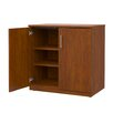 Marco Group Inc. Mobile CaseGoods Base Cabinet Locking Doors with 1 Adjustable Shelf