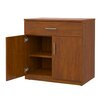 Marco Group Inc. Mobile CaseGoods Base Cabinet with 1 Locking Door with 1 Adjustable Shelf
