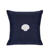 Nantucket Bound Sunbrella Pillow With Embroidered Scallop