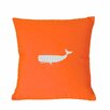 Nantucket Bound Sunbrella Lumbar Pillow With Embroidered Whale