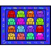 Kids World Rugs Blue Silly Seats Area Rug
