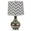 AHS Lighting Charmante 18'' H Table Lamp with Empire Shade