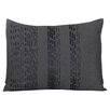 Vera Wang Pom Pom Interrupted Lines Decorative Throw Pillow