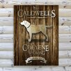 JDS Personalized Gifts Personalized Gift Cabin Textual Art on Canvas
