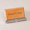JDS Personalized Gifts Wood Business Card Case