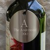 <strong>JDS Personalized Gifts</strong> Personalized Gift Monogram Wine Bottle Medallion (Set of 2)