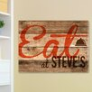 JDS Personalized Gifts Personalized Gift Restaurant Sign Textual Art on Canvas