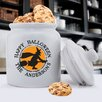 <strong>Personalized Gift Halloween Cookie Jar</strong> by JDS Personalized Gifts