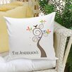 JDS Personalized Gifts Personalized Gift Family Name Decorative Pillows