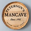 JDS Personalized Gifts Personalized Gift Whiskey Barrel Sign Wall Décor