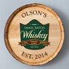 <strong>JDS Personalized Gifts</strong> Personalized Gift Whiskey Barrel Sign Wall Décor
