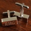 <strong>JDS Personalized Gifts</strong> Personalized Gift Rectangular Bar Cufflinks
