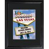 <strong>Personalized Gift Vegas Marquee Framed Photographic Print</strong> by JDS Personalized Gifts