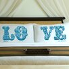 """<strong>JDS Personalized Gifts</strong> Personalized Gift Couples """"Love"""" Pillowcase (Set of 2)"""