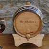 JDS Personalized Gifts Personalized Gift 2 Liter Wine Barrel