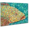 My Island Spotted Grouper Mounted by Giclee Gerri Hyman Painting Print on Canvas