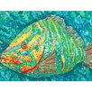 <strong>Striped Grouper Canvas Mat</strong> by My Island