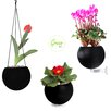 Greenbo Home and Garden Greenball Round Hangers Planter (Set of 3)