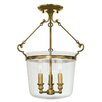 <strong>Hudson Valley Lighting</strong> Quinton 3 Light Chandelier