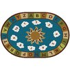 Kids Value Rugs Blue Sunny Day Learn and Play Area Rug