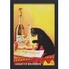 North American Art 'Absinthe Bourgeois' by Vintage Apple Framed Vintage Advertisement