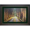 <strong>'Tree Tunnel' by Michael Cahill Framed Photographic Print</strong> by North American Art
