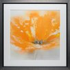 North American Art 'Wild Orange Sherbet I' by J.P. Prior Framed Painting Print