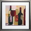 <strong>North American Art</strong> 'Wine Stock' by Julia Hawkins Framed Painting Print