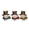 Oddity Inc. Snowman Night Light Christmas Decoration (Set of 3)
