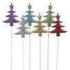 Oddity Inc. Christmas Tree Glitter Pick (Set of 6)