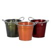 Oddity Inc. Metal Buckets (Set of 3)