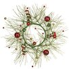 <strong>Oddity Inc.</strong> Glitter Pine Ball Wreath