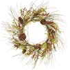 <strong>Oddity Inc.</strong> Tipped Pine Berry Wreath