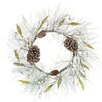 <strong>Oddity Inc.</strong> Pine Berry Cone Leaf Wreath