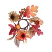 Oddity Inc. Fall Sunflower Candle Ring (Set of 2)