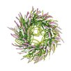 "Oddity Inc. 18"" Sweeping Beauty Delphinium Wreath"