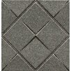 "Bedrosians Ambiance Insert Matrix City 4"" x 4"" Resin Tile in Pewter"