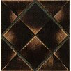 "Bedrosians Ambiance Insert Matrix City 4"" x 4"" Resin Tile in Venetian Bronze"
